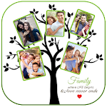 Family Tree Picture Frames Icon