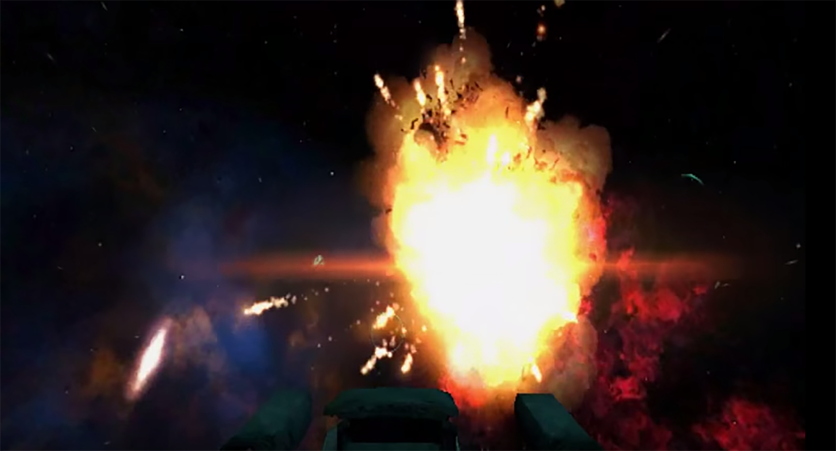 Turret Attack VR- screenshot