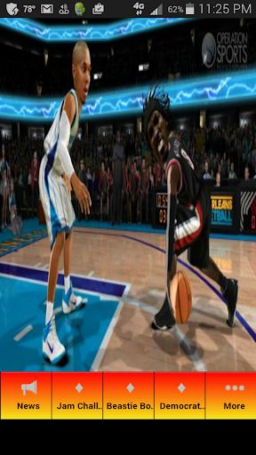 NBAジャムのためのヒント