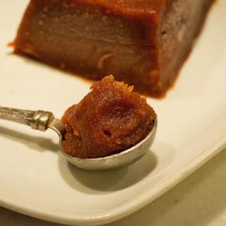 Dulce de Membrillo -Argentinian Quince Paste-