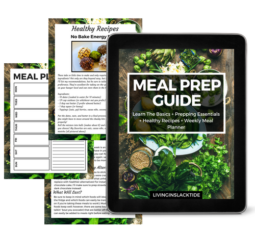 Meal Prep Landing Page