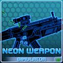 Simulator Neon Weapon icon