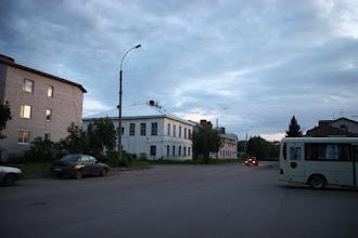 """Photo: Площадь у гостиницы """"Русь"""""""
