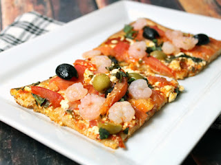 Spicy Mediterranean Pizza Recipe