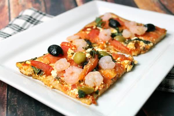 Spicy Mediterranean Pizza Recipe