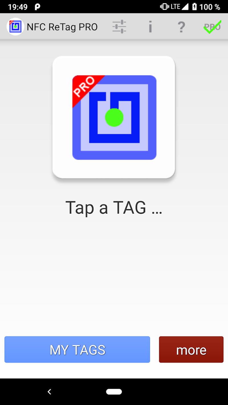 NFC ReTag PRO Screenshot 0
