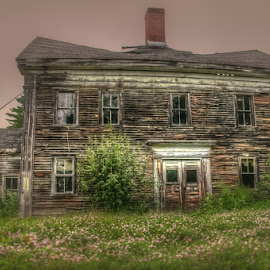 There No More by Chris Cavallo - Buildings & Architecture Decaying & Abandoned ( old house, vacant, maine, decay, abandoned )