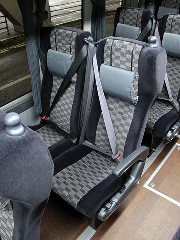 名鉄バス「名神ハイウェイバス京都線」 3901 シート