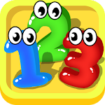 Number Counting games for toddler preschool kids Icon
