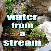 Meditate and Relax, Water from a Stream