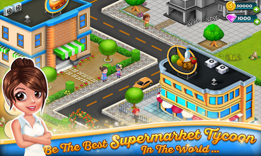 Supermarket Tycoon MOD APK 1.58 [Unlimited Money + No Ads] 1