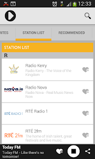 Irish Radioplayer- screenshot thumbnail