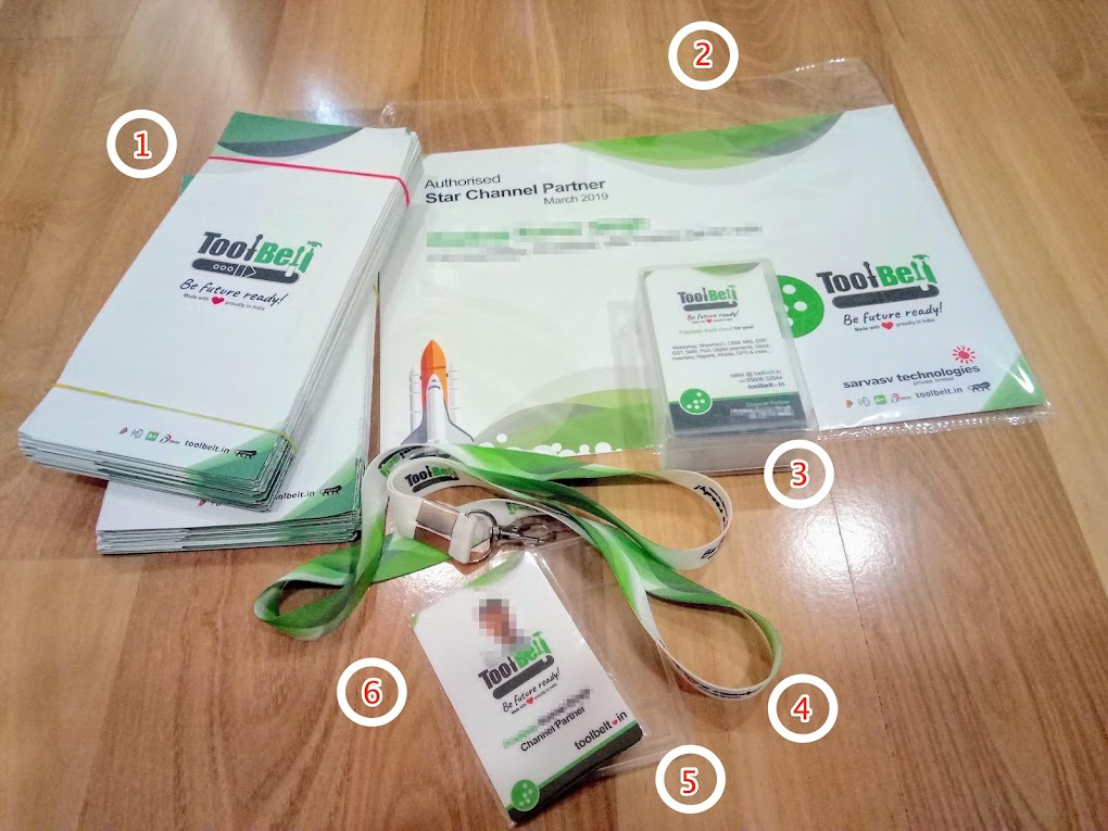 Welcome Kit - Physical