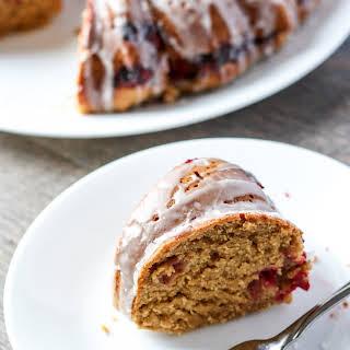 Cranberry Orange Bundt Cake.