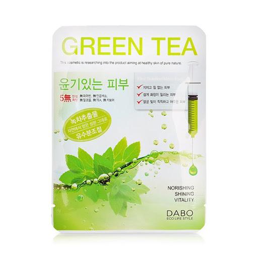 Mặt nạ DABO tinh chất trà xanh 23g