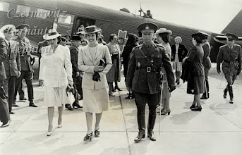 Photo: Візит Марії Антонеску в Чернівці. Фото 1941-1943 років.