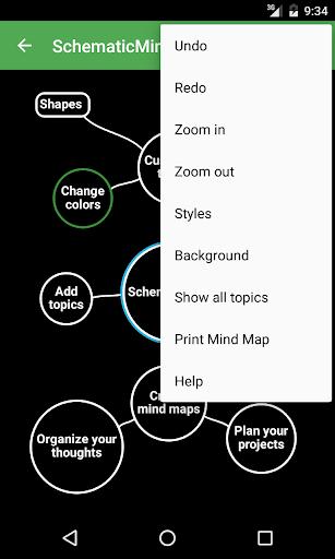 SchematicMind Free mind map screenshot 6