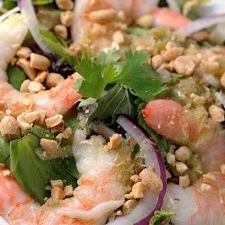 Lemongrass Shrimp Salad