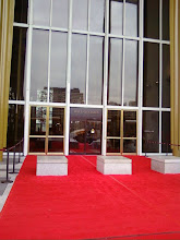 Photo: A red carpet! Who told them I was coming?