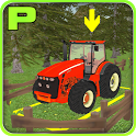 Super Tractor Parking 3D icon