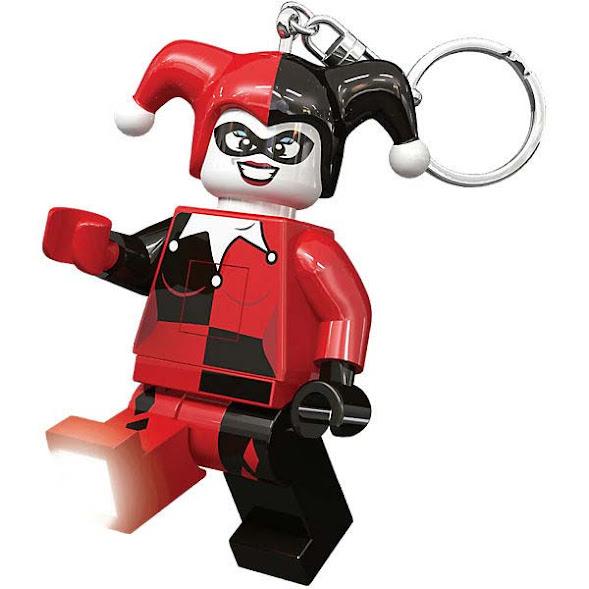 Imagen de contenido Llavero con Luz Led Lego® Harley Quinn