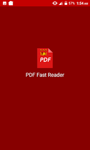 PDF Fast Reader Screenshot