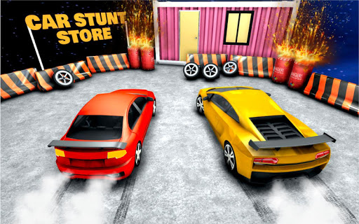 Car Racing Stunt Game - Mega Ramp Car Stunt Games apkpoly screenshots 5