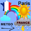 Weather Paris 5 days icon