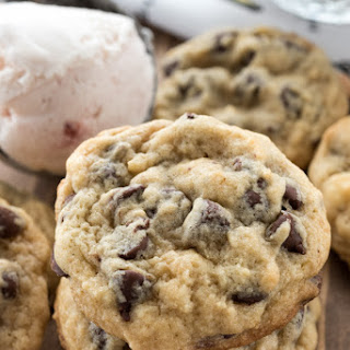 Ice Cream Chocolate Chip Cookies