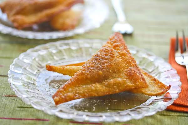 Yummy Sweet Cheese Wontons.