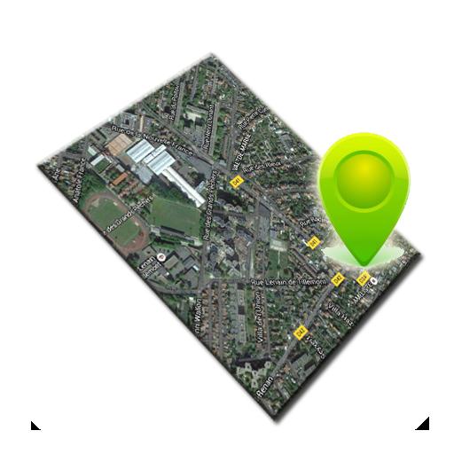通讯の地図ビュー LOGO-記事Game