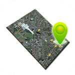 Street Map View Icon