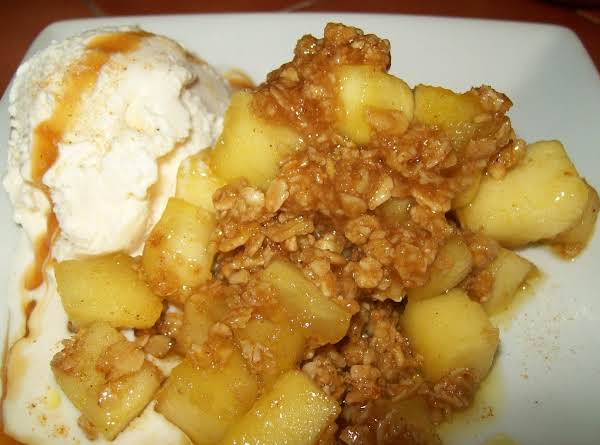 Easy As 1,2,3,...7 Step Apple Crisp