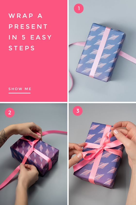 Wrap a Present - Video Templates Template