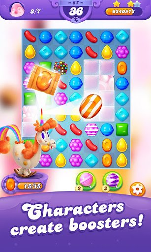 Candy Crush Friends Saga screen 1