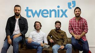 El equipo de Twenix en su trabajo