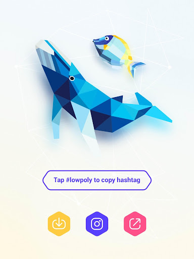 inPoly – Poly Art Puzzle - screenshot