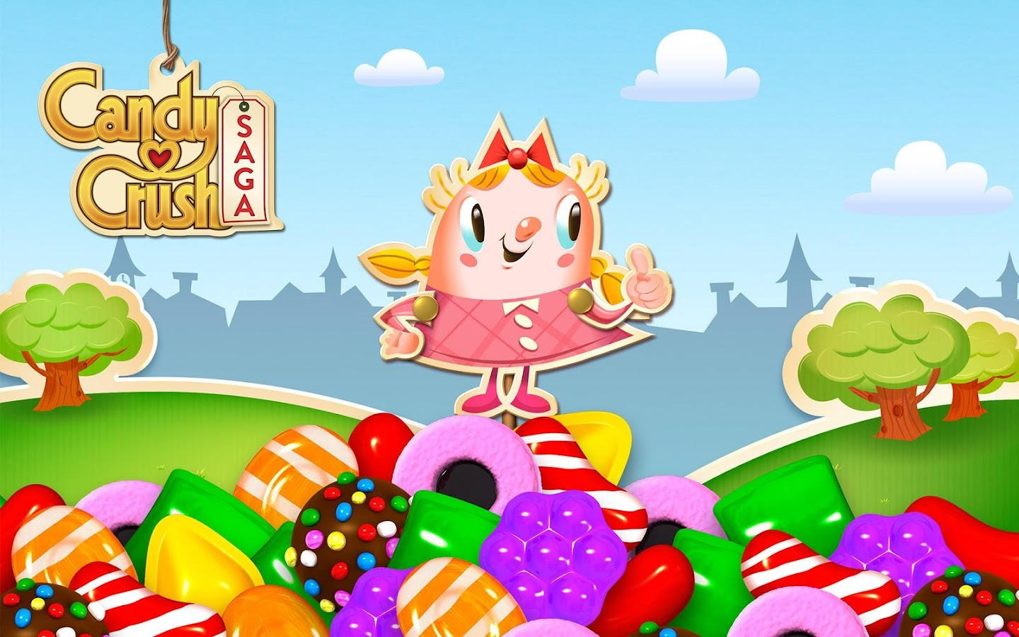 The highly successful game of King.com is now avalaible in full flash version and you can play it here without registration or Facebook account. Candy...