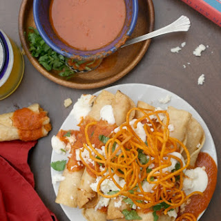 Enchiladas de Camote (Sweet Potato Enchiladas).