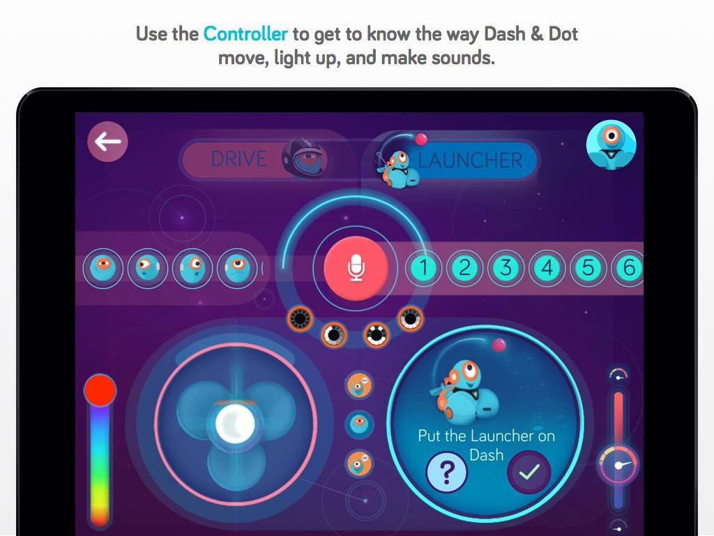 Wonder for Dash & Dot Robots
