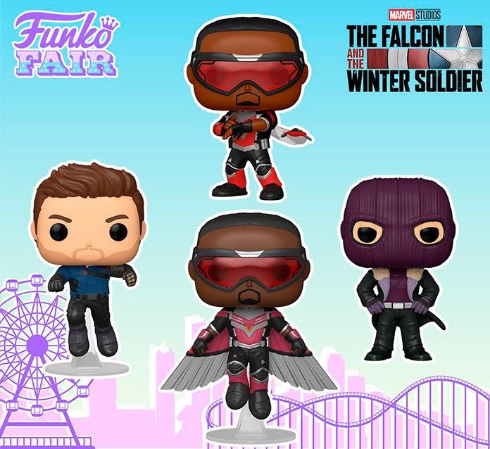 funko pop de The Falcon and the Winter Soldier