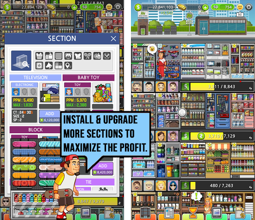 Mega Store Manager: Business Idle Clicker 1.0.62 screenshots 1