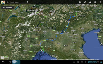 Photo: Saturday's road trip in the rain, Canazei to Nervi on the Italian Mediteranean Sea