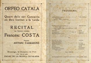 Photo: © Biblioteca de l'Orfeó Català