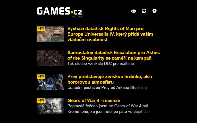 Notifikátor Games.cz