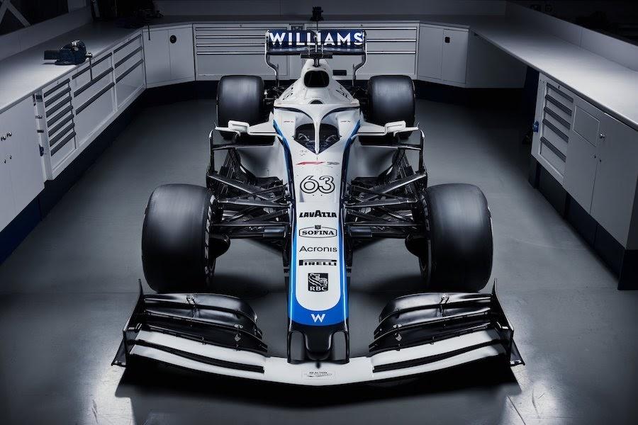 ウィリアムズF1新カラーリング