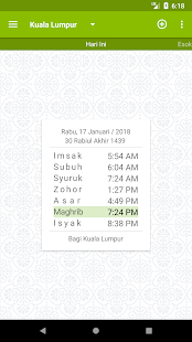 MySolat - Malaysia Prayer Time- screenshot thumbnail