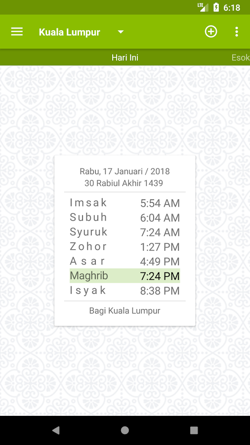 MySolat - Malaysia Prayer Time- screenshot