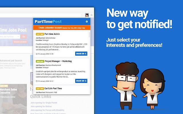 PartTimePost.com - Latest Jobs