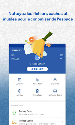 Clean Master (Boost Antivirus) screenshot 1